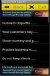 Behaviours Management screenshot 2/3