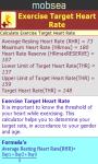 Exercise Target Heart Rate Calculator screenshot 3/3