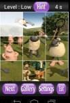Shaun the sheep puzzle game screenshot 4/6