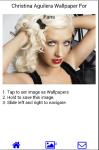 Christina Aguilera Wallpapers for Fans screenshot 3/6