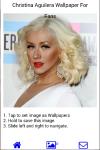 Christina Aguilera Wallpapers for Fans screenshot 5/6