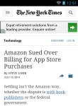 New York Times News Reader Lite screenshot 4/6