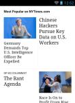 New York Times News Reader Lite screenshot 5/6