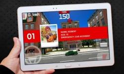 Emergency Ambulance Driving 3D screenshot 4/6