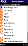 VOA News for Java Phones screenshot 3/6