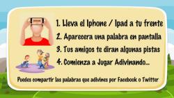 Adivinando - Heads Up En Español screenshot 3/5