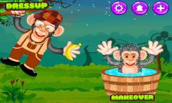 Baby Chimpanzee Salon screenshot 2/5