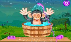 Baby Chimpanzee Salon screenshot 3/5
