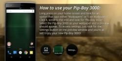 Pip-Boy 3000 Live Wallpaper optional screenshot 4/5