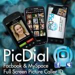 PicDial Social Pic CallerID screenshot 1/6