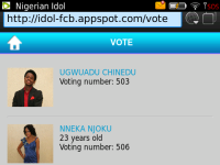 Nigerian Idol screenshot 4/4