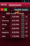 Islam  Azaan Haadith Qudsi screenshot 1/3