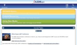 AIDSgov US Department of Health and Human Services screenshot 1/1