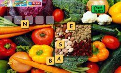 Vegetables Scrabble screenshot 2/5