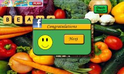 Vegetables Scrabble screenshot 4/5