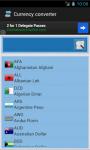 Curreny conversor - calculator screenshot 2/4