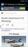 Fighter P-51 Mustang LWP Lite screenshot 4/6