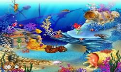 Galaxy Live Aquarium Wallpaper screenshot 1/6