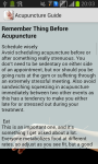 Acupuncture Guide n Tips screenshot 2/3