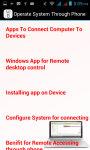 Operate System Through Phone screenshot 3/3