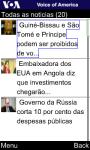 VOA Portuguese for Java Phones screenshot 5/6