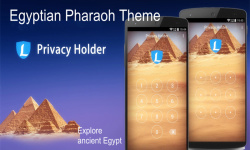 AppLock Theme Egypt Pyramid screenshot 1/3