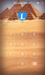 AppLock Theme Egypt Pyramid screenshot 3/3