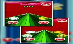 fireball snowball dual race 3D screenshot 2/5