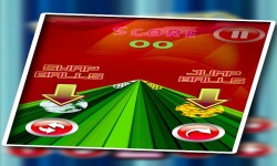 fireball snowball dual race 3D screenshot 4/5