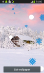 Snowfall Live Wallpapers Top screenshot 4/6