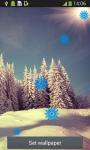 Snowfall Live Wallpapers Top screenshot 5/6