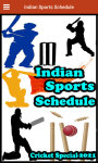 Indian Sports Schedule screenshot 1/4
