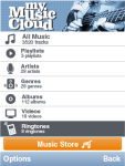 MyMusicCloud screenshot 1/5