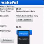 Wakeful - Talking Alarm screenshot 1/1
