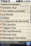 Canada Newspapers screenshot 1/6