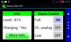 Battery Alarm RP screenshot 3/3