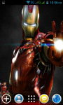 Iron Man Live Wallpapers screenshot 2/4