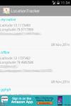 Mobile Track Location Tracker screenshot 2/2