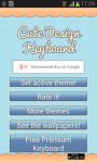 Cute Design Keyboard screenshot 2/6