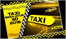 Taxi Simulator 3D 2016 screenshot 1/5