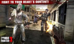Zombie Frontier - Defense and Attack screenshot 2/6