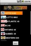 SlickLotto Canada for Android screenshot 1/4