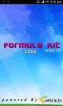 Formula Kit Lite screenshot 1/4