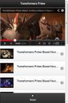 Transformers Prime Videos screenshot 1/2