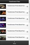 Transformers Prime Videos screenshot 2/2