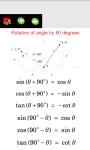 Trigonometry Formulas and Graphs screenshot 1/6