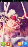 Cupcake Live Wallpaper Best screenshot 3/5