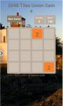 2048 Tiles Union Game screenshot 1/3