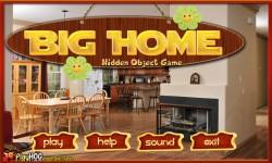 Free Hidden Object Game - Big Home screenshot 1/4