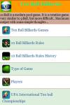 Ten Ball Billiards Games screenshot 2/3